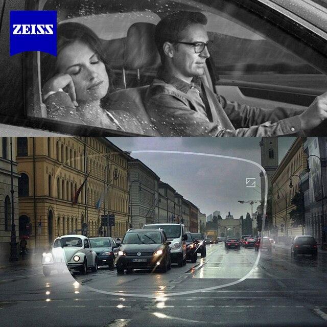 ZEISS Dura Vision 플래티넘 드라이브 안전 야간 운전 렌즈 눈부심 방지 반사 일 야간 운전 안경 1 쌍
