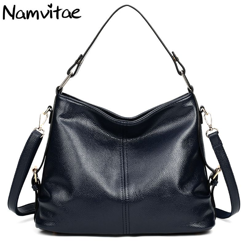 Namvitae Luxury Famous Brands Genuine Leather Totes Bag Big Capacity Women Handbags Female Shoulder Bags Handbag bolsa feminina