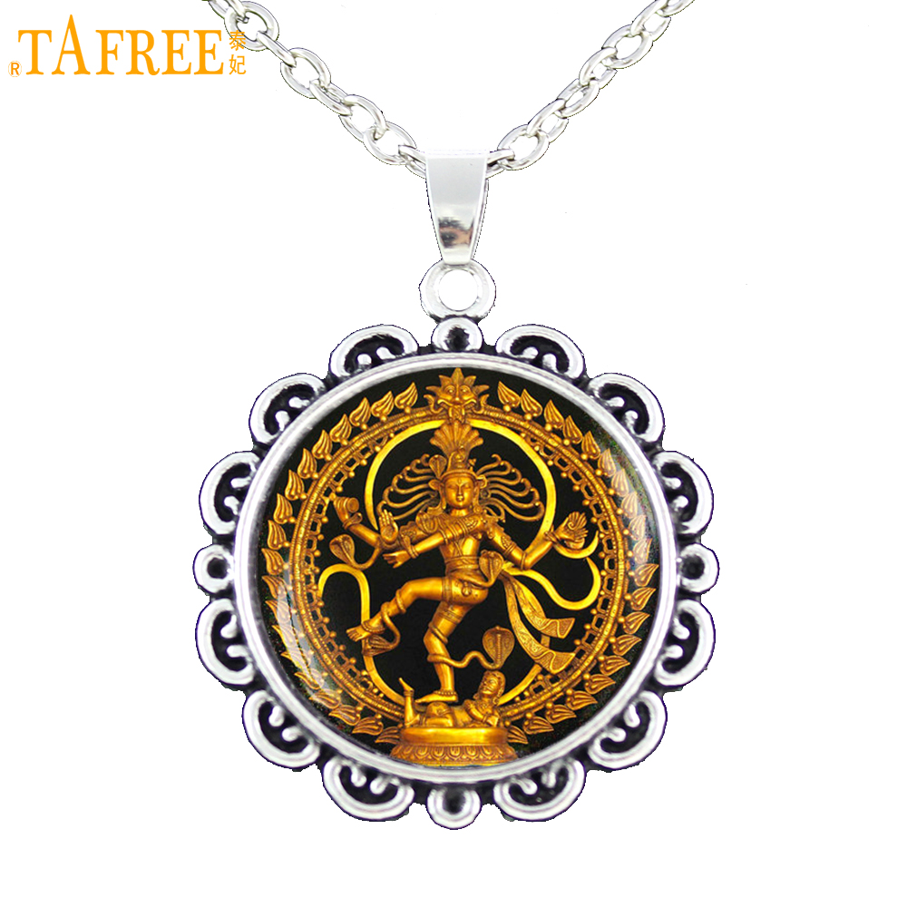 Tafree religion jewelry vintage nataraja chain necklace for Zen culture jewelry reviews