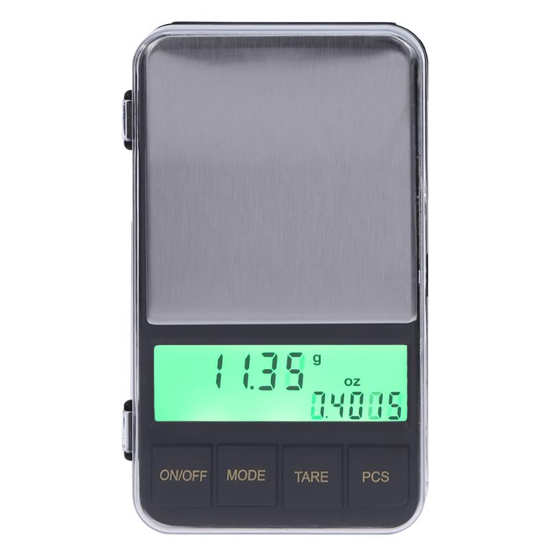 500g/0.01g LCD Backlight Digital Scale High Precision Jewelry Scales 0.01g Electronic Pocket Scale Weighing Tool