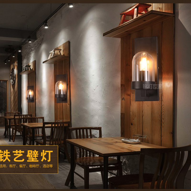 Retro Wall Lamp European Vintage Style Candle Wall Light Lamps Beside Light For Bar Coffee Shop Bathroom Home Led Lights