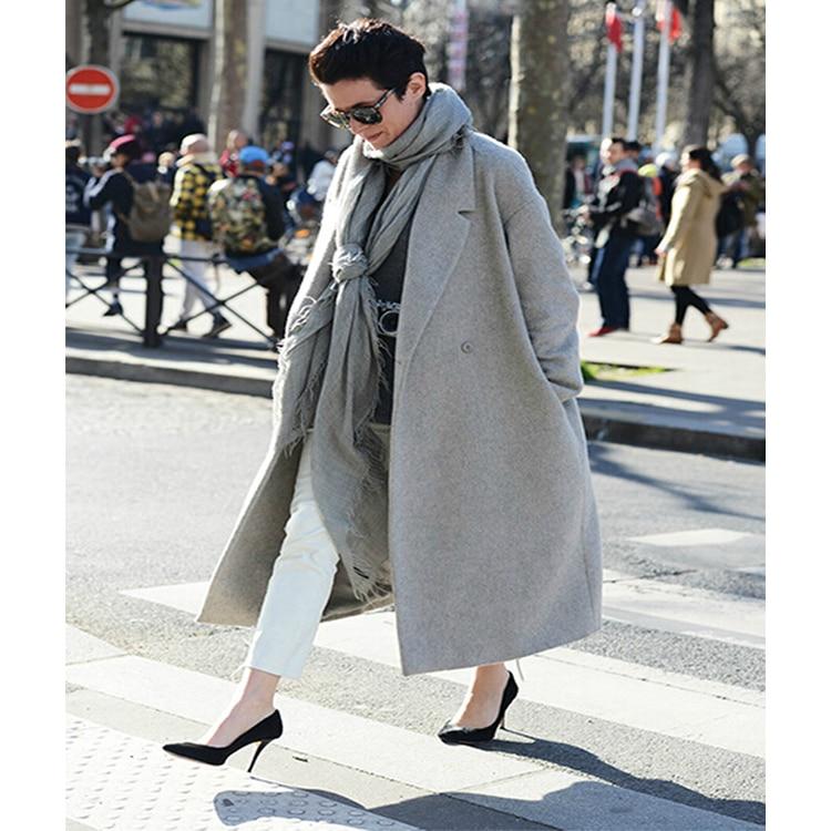 Popular Grey Overcoat-Buy Cheap Grey Overcoat lots from China Grey ...