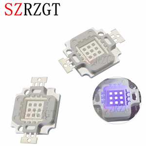 10W 45MIL UV LED Chip COB Purple Light 360nm 365nm 370nm 380nm 390nm 400nm 410nm Ultraviolet lamp Curing SMD(China)