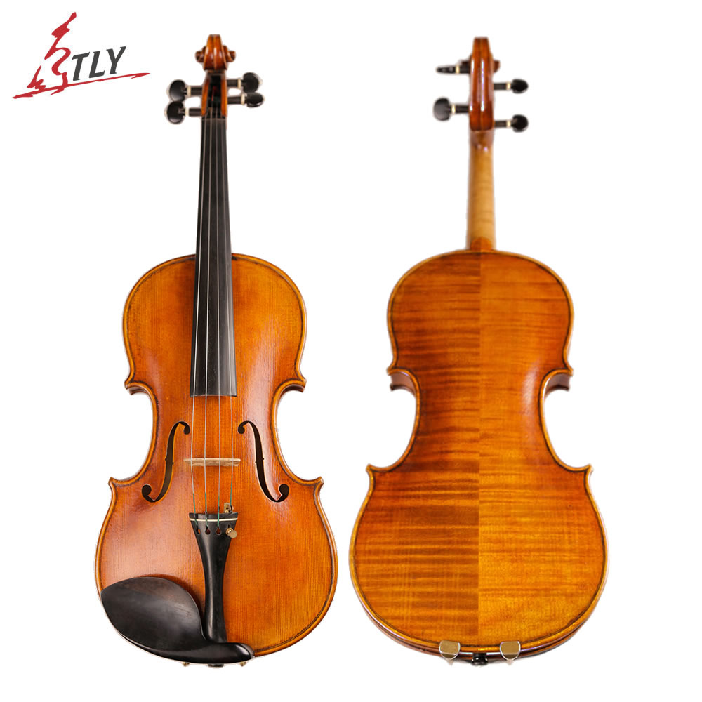 TONGLING Brand Master Hand-made Antique Violin Naturally Dried 30 Years Old Europe Maple Austrian Spruce Professional Violin austrian spruce ch j b collion mezin copy french master violin no 1408 nice sound antique violin100% handmade