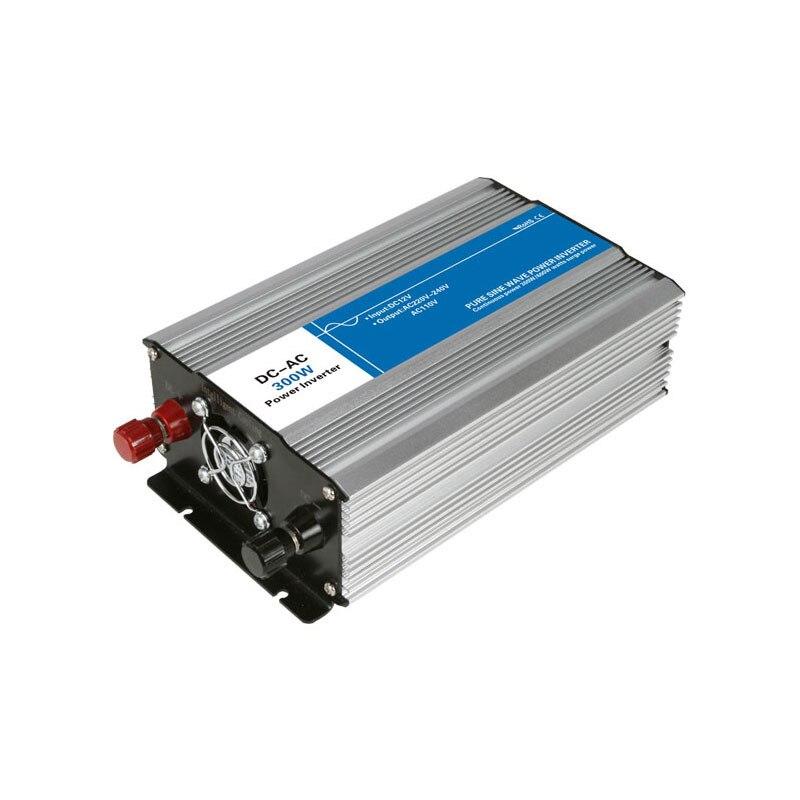 DC-AC 300W Pure Sine Wave Inverter 12V To 220V Converters Voltage Off Grid Electric Power Supply LED Digital Display USB China