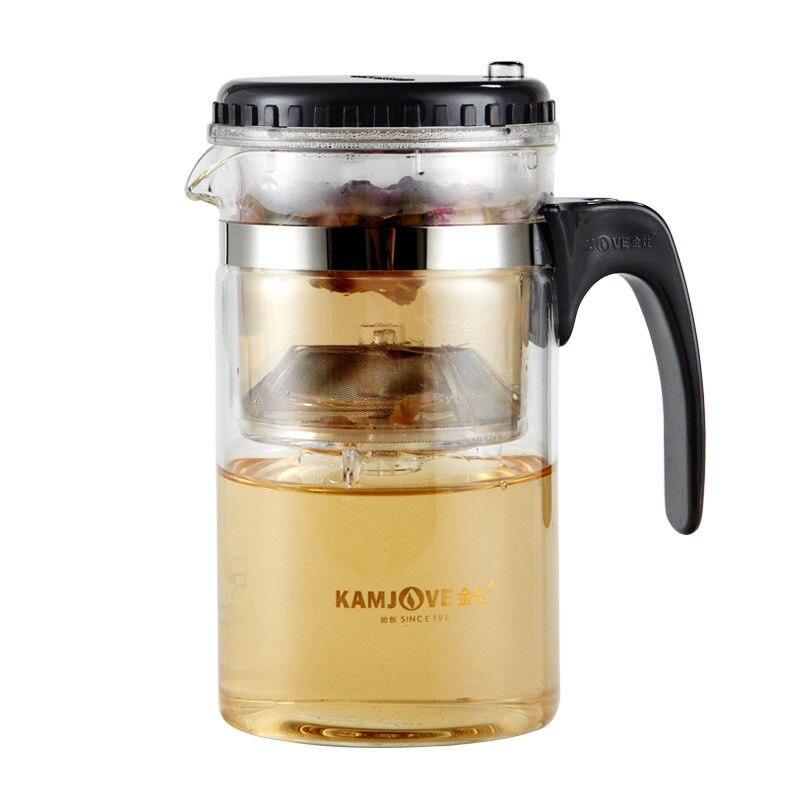 [GRANDNESS] TP-160 Kamjove Art Tea Cup Mug & Tea Pot 500ml <font><b>Glass</b></font> Teapots Kungfu