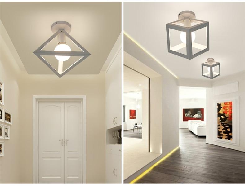 Luzes de teto led moderno plafondlamp casa