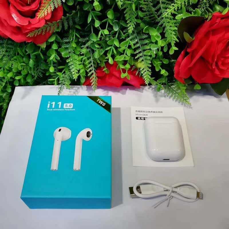 5b2678345c7 ... Original i11 ifans 1:1 Air pods TWS Wireless Bluetooth 5.0 super bass  stereo Earbud ...