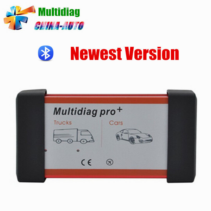 New arrival 2015.1 R1 Software tcs cdp pro plus mvd Multidiag pro+ with bluetooth for cars trucks diagnostic tool +carton box