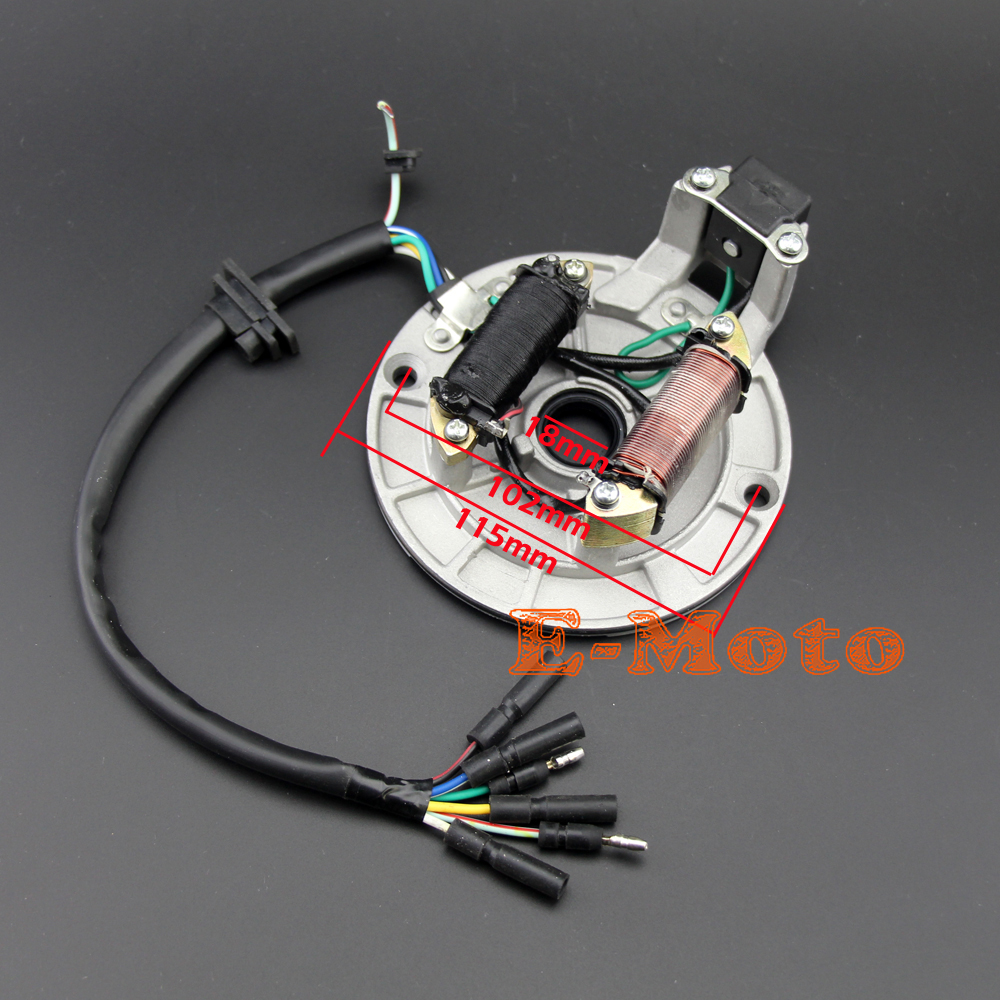 Fantastic Lifan 125 Wiring Harness Tall Ibanez Pickups Rectangular Dimarzio Pickup Wiring Color Code Remote Start Wiring Youthful 5 Way Pickup Switch PinkDiagram Of Solar System New IGNITION STATOR MAGNETO PLATE 125CC PIT BIKE XR50 SDG SSR 107 ..