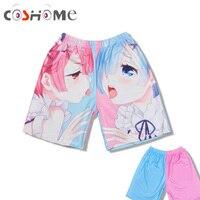 Coshome High Quality Re Zero Kara Hajimeru Isekai Seikatsu Ram Rem Anime Sexy Underwear Men S