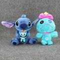 2 Estilos Anime Stitch y Scrump Lilo & Stitch Juguetes de Peluche Suave Muñeca de Peluche Juguetes Grandes Regalos Para Los Niños 24-27 cm
