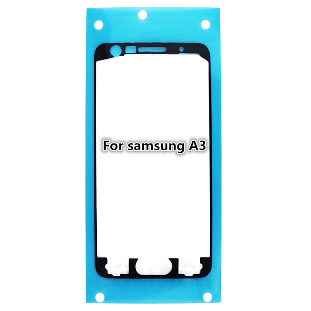 5Pcs/lot Liquid Crystal Frame Stick Adhesive For Samsung A3 A5 A7 A9 E5 E7 J7 Note2 LCD Glass Sticker PET Foam Free Shipping