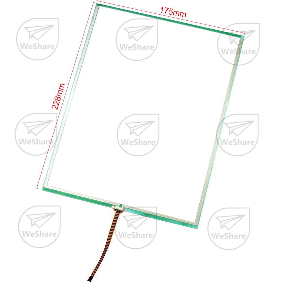 1pcs Touch Screen Panel For Xerox Docucolor Dc240 Dc242 Dc250 Dc252 Dc260  Copier 228*175mm