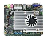 Ucuz mini endüstriyel bilgisayar Desktop Board 3.5 inç anakart destek 1080p hd tv