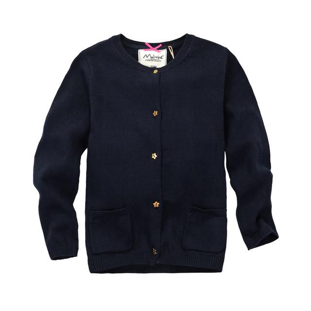 MamaLove Otoño/Invierno Muchachos de la Manga Larga del Suéter de Niño 2-9years Térmica Suéter Cardigan Niños Ropa de Abrigo Para Niños