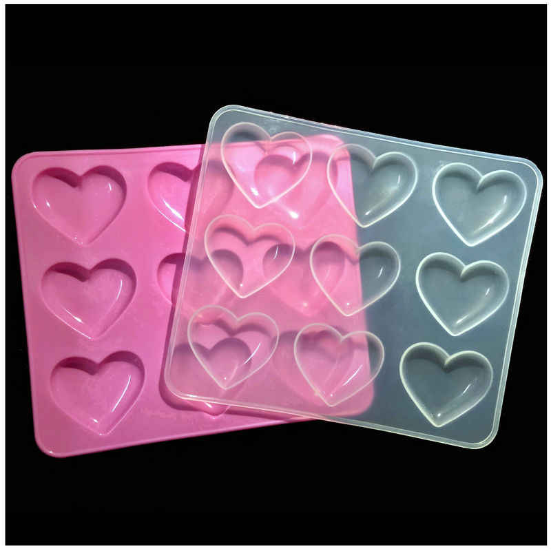 Love Heart Mold Silicone Epoxy Resin DIY Jewelry Making Tools Mould Handcraft XJ