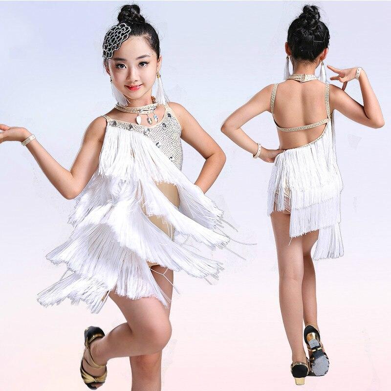f127176a5 Niños vestido de la danza moderna paillette Niñas Latino danza para ...