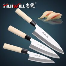 Luxurious Professional Deba Knife Fish Knife Japanese Sashimi Sushi Salmon Beef Knife Cooking Cleaver Knives(China)