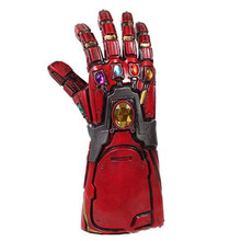 Nieuwe Avengers Endgame Superheld Iron Man Tony Stark Thanos Infinity Steen Cosplay Handschoenen Latex Hand Gauntlet Cosplay Props speelgoed(China)