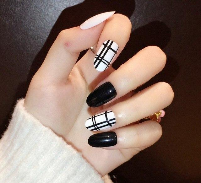 24 pcs fashion cute designer acrylic art fake nails 3d multi candy 24 pcs fashion cute designer acrylic art fake nails 3d multi candy color full false tips prinsesfo Images