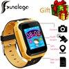 Funelego 2017 New Children GPS Tracker Phone Watch G900A Touch Screen Clocks Wristwatch Support SIM Card
