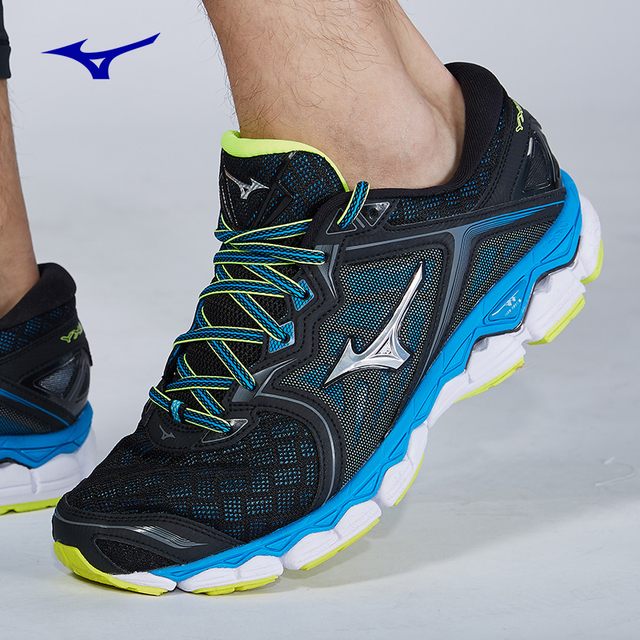 2018 new arrival MIZUNO WAVE SKY Running Jogging Shoes for men Breathable  Cushion Sports Shoes Comfort Sneakers gym shoe f7e970427