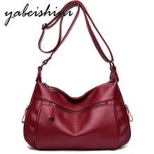 High quality Women Messenger Bags capacity PU Leather Shoulder Bag Sac a main Female Handbags for women 2018