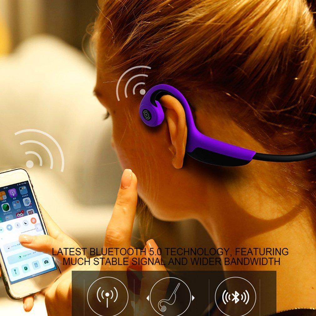 Z8 casque sans fil Bluetooth écouteurs à Conduction osseuse Bluetooth 5.0 casque de Sport en plein air anti-transpiration avec micro