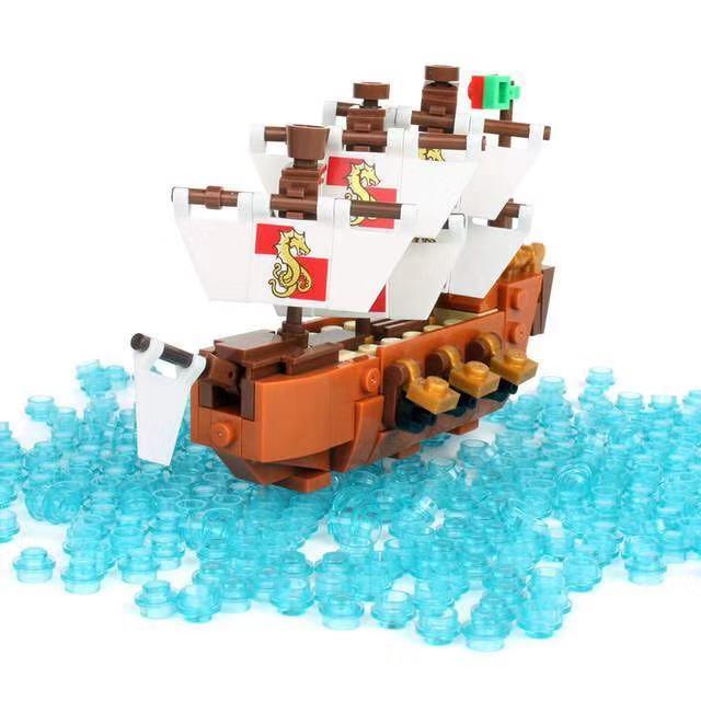 Ideas Ship in a Bottle Expert Building Blocks 1080 pcs Bricks Ship Free Shipping
