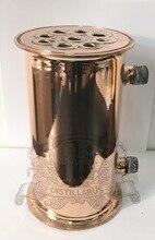 Медь tri-clamp 4 «(102 мм) OD119 Dephlegmator/Конденсатор/Рефлюкс. Оболочки и трубки
