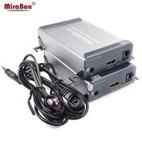 HDMI удлинитель ИК Видео без потерь и нет времени задержки 1 Отправитель 1 приемник по одной CAT5/5e/6 utp кабеля stp RJ45 HDMI ИК TX RX