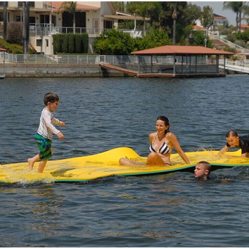 Commercial Water Park Equipment Huge Foam Floating Mat Giant Water Foam Carpet