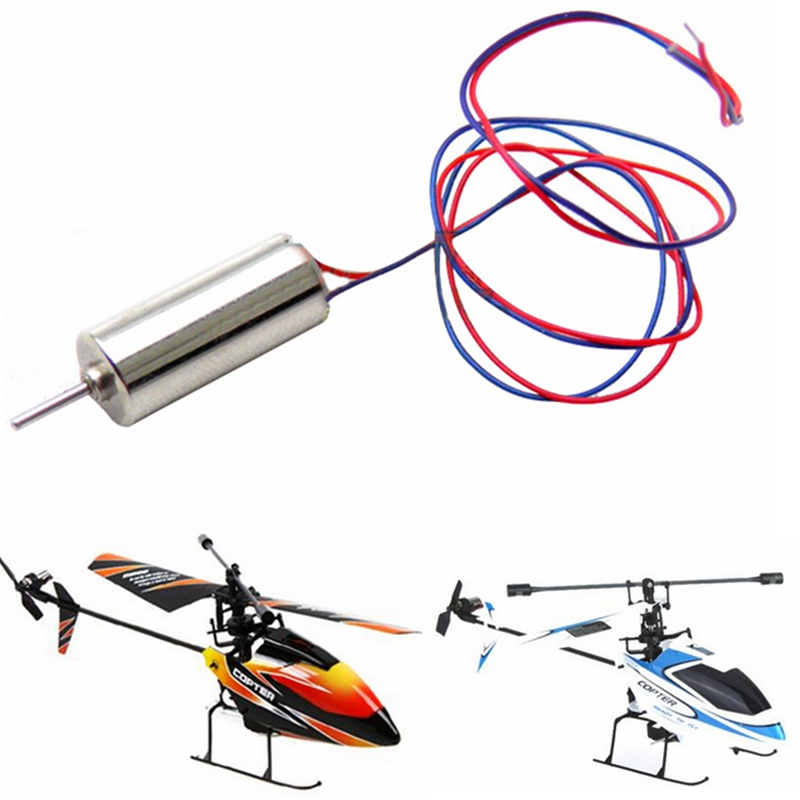 все цены на 1Pcs/lot Tail Motor for WLtoys WL V911 Single Propeller RC Helicopter Spare Parts V911-20
