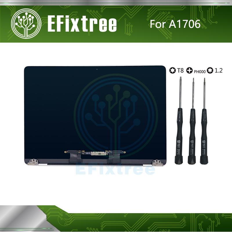 Full 2016 2017 Year 13 3 A1706 LCD Screen Assembly For Macbook pro Retina 13 A1706