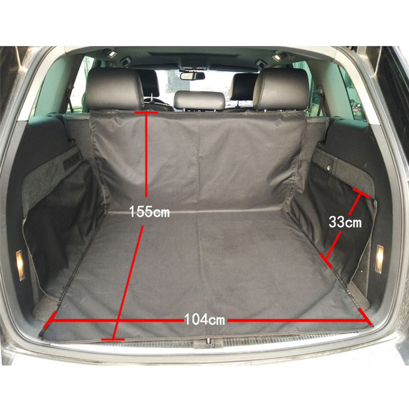 Car Trunk Cargo Liner Waterproof Oxford Cloth Pet Covers Rear Auto Pad Car Trunk Mat Liner Waterproof Car Protection Blanket