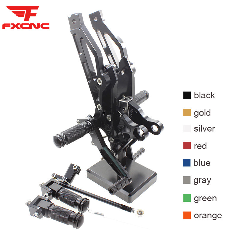 FOR HONDA GROM <font><b>MSX125</b></font> 2012-2017 2016 2015 2014 CNC Aluminum Alloy Motorcycle footrest footpeg pedal foot peg <font><b>Rearset</b></font> Rear Set image