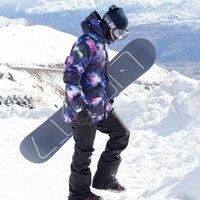 SIMAINING лыжный костюм для мужчин сноуборд куртка + Mountain Лыжный Спорт брюки для девочек водостойкие дышащие уличные зимние сноуборд