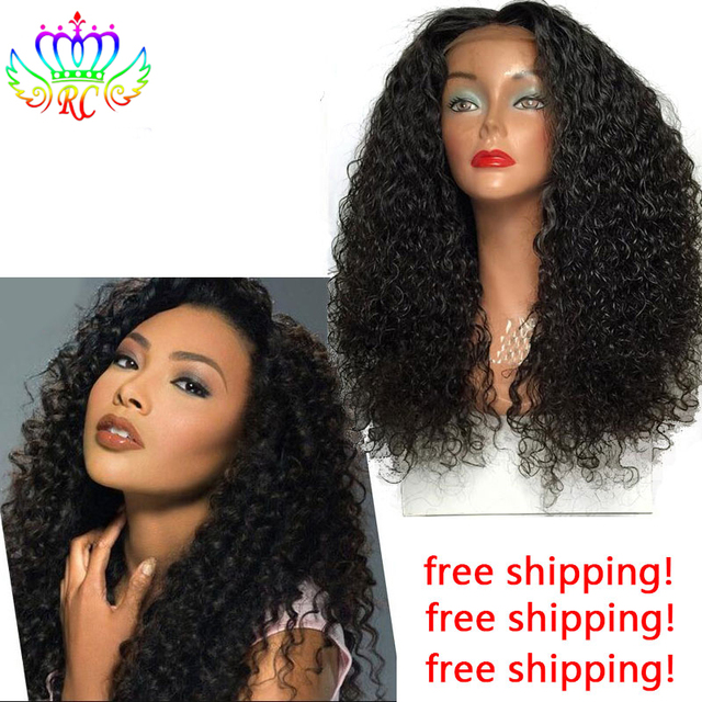 Cheap Lace Wigs Synthetic For Black Women Long Curly Synthetic Hair