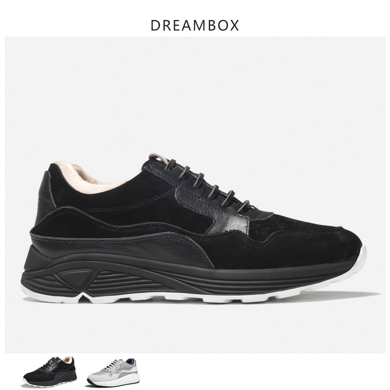 Mens Casual Shoes New Leather Thick Bottom Increased Sneakers Fashion Casual Generous Spring And Summer Mens SneakerMens Casual Shoes New Leather Thick Bottom Increased Sneakers Fashion Casual Generous Spring And Summer Mens Sneaker
