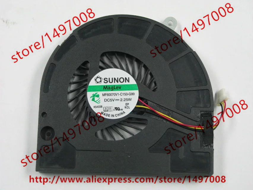 цена на Free Shipping For SUNON MF60070V1-C150-G99 DC 5V 2.25W 3-wire 3-pin 40mm Server Blower Cooling fan