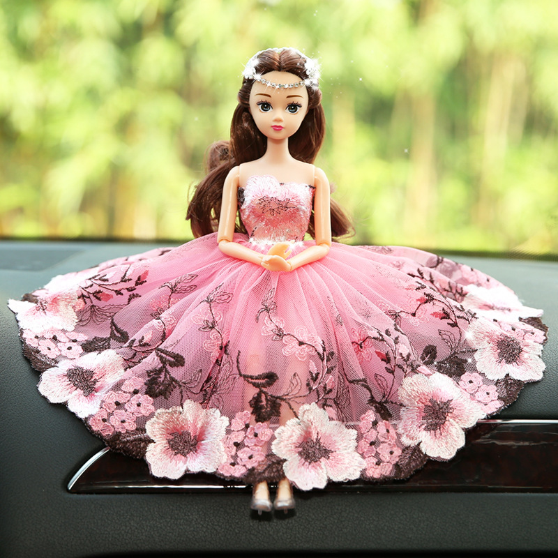 Wedding Dress for pretty Doll Princess Evening Party Clothes Wears ...