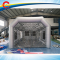 7.5*4.5*3 mH inflável cabine de pulverizador, cabine de pintura inflável