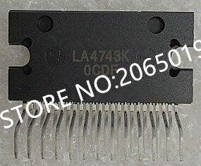 5 unids/lote LA4743K LA4743B LA4743J LA4743 ZIP-25