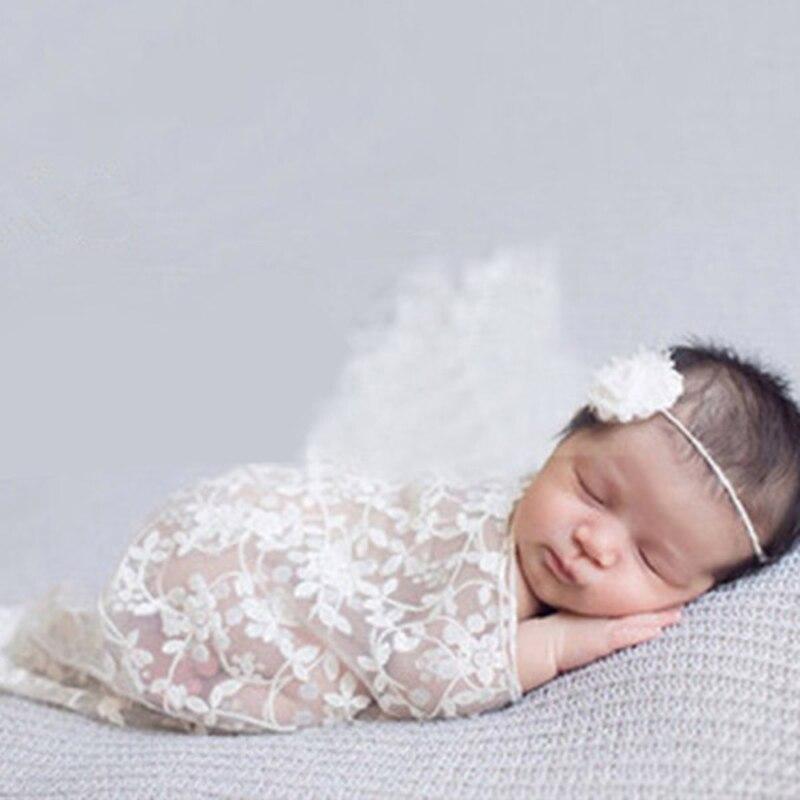 1 pièces nouvelle Europe bébé photographie accessoires couverture emballage Studio nouveau-né bébé Photo enveloppé fil gland tissu couvert serviette
