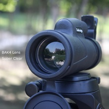 10×40 Hunting Monocular Outdoor Tactical Telescope Camping Binoculars Waterproof HD Night Vision Super Clear BAK4 Optical Glass