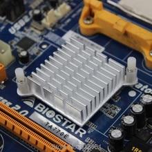купить 5 Pieces / Lot Northbridge Heat sink Mini IC Cooling Aluminum 40*40*13mm Cooler Heatsink дешево