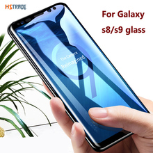 4D Curved Full Cover Tempered Glass For Samsung s8 S9 plus s6 edge s7 for Galaxy note 8 9 10 pro S10 5G Screen Protector