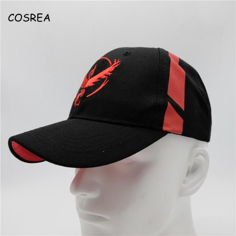 Anime Pokemon Baseball Caps Cosplay  Pocket Visor Monster Snapback Hats Summer Embroidery Mesh Cap For Women and Men