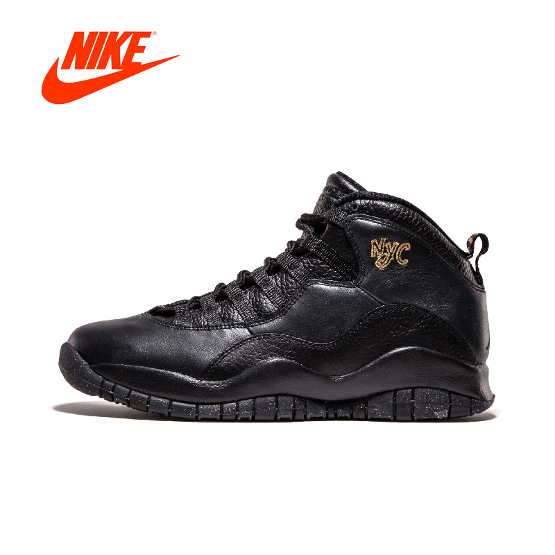все цены на Original New Arrival Authentic Air Jordan Retro 10 Mens Basketball Shoes Sneakers Breathable Sport Outdoor Good Quality